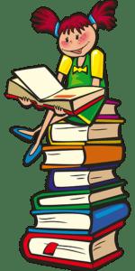 niña-sentada-sobre-libros