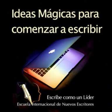 Imagen Tienda dulcebermudez.com Curso Ideas Mágicas para Comenzar a Escribir