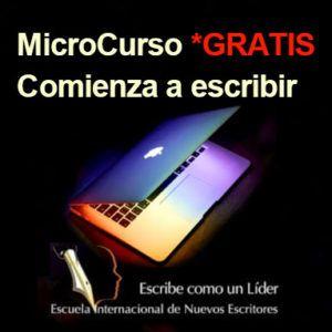 "Imagen Tienda dulcebermudez.com MicroCurso Gratuito ""Comienza a Escribir"""