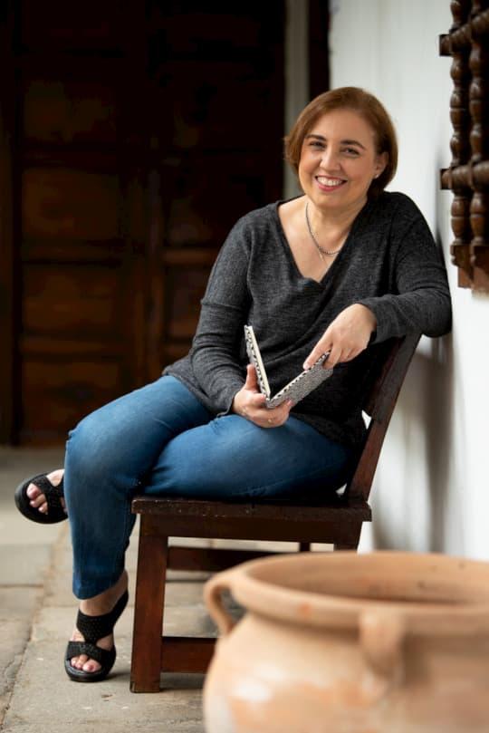 Dúlce Bermúdez de la Escuela Internacional de Nuevos Escritores